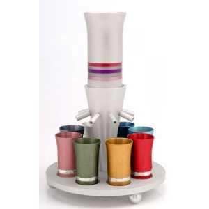 Multicolor Wine Fountain by Agayof