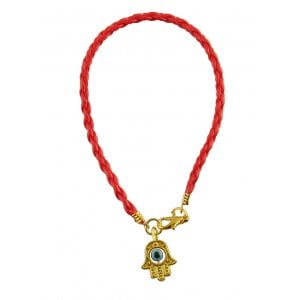 Special Offer! Hamsa Bead Eye Red Braid Bracelet