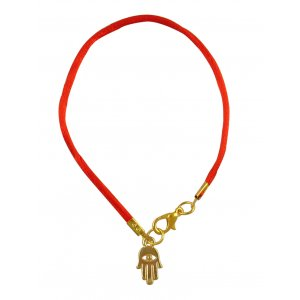 Special Offer! Gold Color Hamsa Eye Red Braid Bracelet
