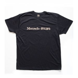 Mentch Yiddish T-Shirt