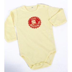 Barbara Shaw Short Sleeve Baby Onesie - Just Starting Up