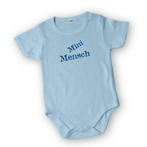 Barbara Shaw Short Sleeve Baby Onesie - Mini Mensch