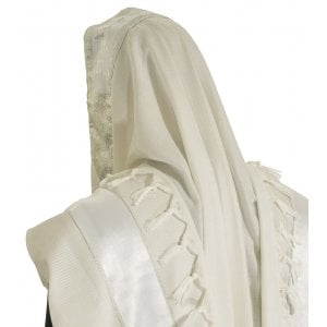 Wool/Acrylic Tallit - Ohr (light) Design