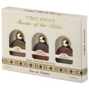 Ein Gedi Perfume Trio Scents of the Bible - Myrrh Frankincense and Spikenard