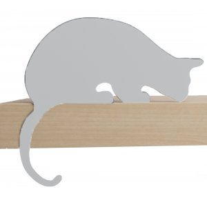 Sherlock Cat Shelf Decoration by ArtOri