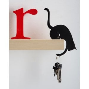 Cat Design Shelf Hook by ArtOri - Louis' Paw