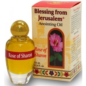 Blesssing from Jerusalem Rose of Sharon Anointing Oil 12ml - 0.4fl.oz