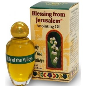 Blessing from Jerusalem Lily of the Valleys Anointing Oil 12ml - 0.4fl.oz