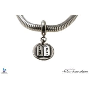 Sterling Silver Ten Commandments Charm