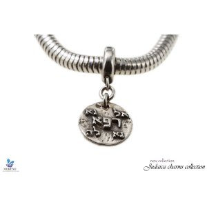 Sterling Silver Charm for Cure and Health