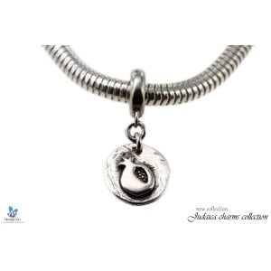 Sterling Silver Pomegranate Charm