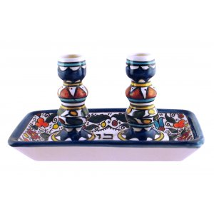 Armenian Shabbat Candle Set