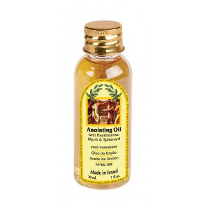Prosperity Anointing Oil 30 ml - Frankincense, Myrrh and Spikenard