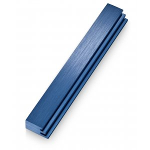 Adi Sidler Laser Cut Steps Design Mezuzah Case - Blue
