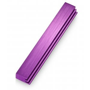 Adi Sidler Laser Cut Steps Design Mezuzah Case - Purple