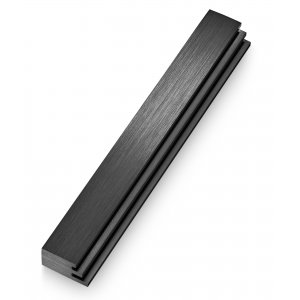 Adi Sidler Laser Cut Steps Design Mezuzah Case - Black