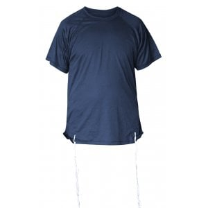 Talitnia Dry-Fit Tzitzit T-shirt With Kosher Tzitzis - Dark Blue
