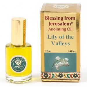 Gold Series Blessing from Jerusalem - Lily of the Valleys Anointing Oil 0.4 fl.oz (12ml)