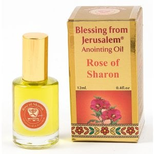 Gold Series Blessing from Jerusalem - Rose of Sharon Anointing Oil 0.4 fl.oz (12ml)