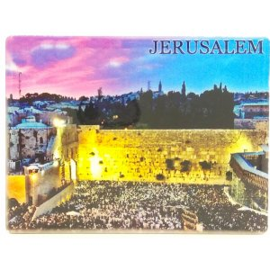 Ceramic Magnet - Western Wall