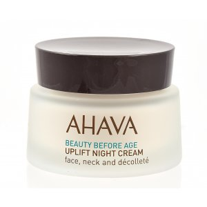 AHAVA Beauty Before Age Uplift Night Cream face neck and Decollete