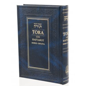 Bible with Spanish Translation - Torah Five Volumes with Haftarot
