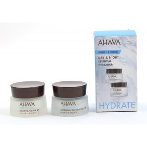 AHAVA Day Moisturizer & Night Replenisher Essential Hydration
