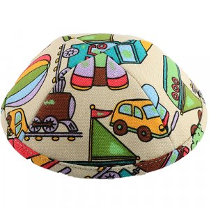 Colorful Childrens Toy Design Cloth Kippah