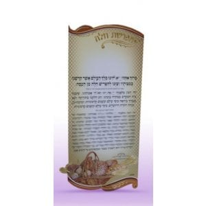 Separating Challah Blessing Magnet