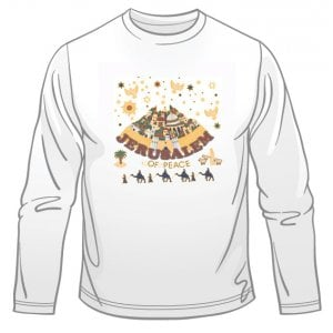 Jerusalem of Peace Long Sleeved T-Shirt