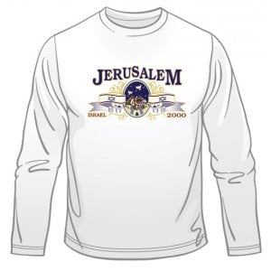 Jerusalem - Israel Long Sleeved T-Shirt