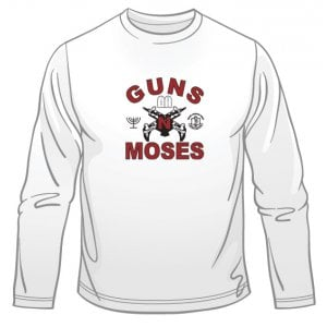 Guns n' Moses Long Sleeved T-Shirt
