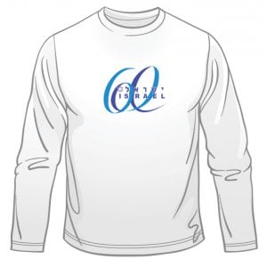 Israel 60 Anniversary Long Sleeved T-Shirt