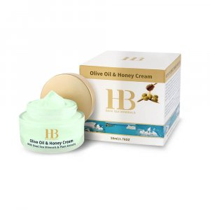 H&B Dead Sea Moisturizing Olive Oil and Honey Cream SPF-20