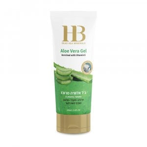 H&B Aloe Vera Gel with Vitamin E and Dead Sea Minerals