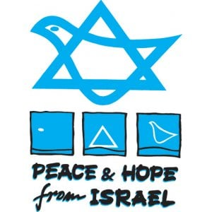 """Peace and Hope from Israel"" Long Sleeved T-Shirt"