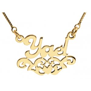 Gold Filled Decorative Personalized Necklace
