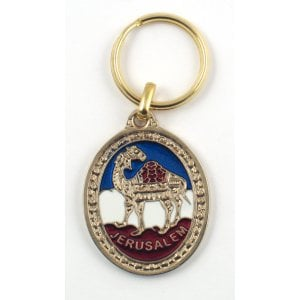 3 Colorful Camel Keychains