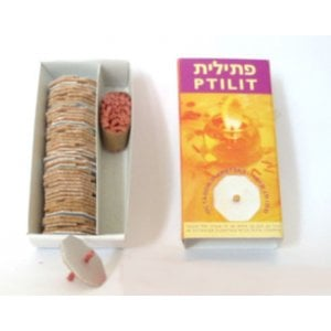 Floating Wicks and Cork Floaters for Chanukah and Shabbat - Box of 50