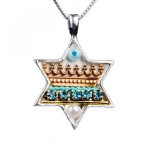 Star of David Pendant by Ester Shahaf