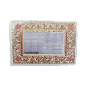 Microfiche Laminated Card - Holding the Five Books of Torah, Psalms and Tanya