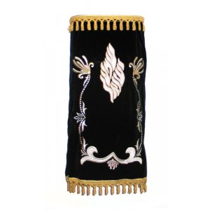 Shema Yisrael Custom Torah Mantle Premium Velvet - Choice of Colors