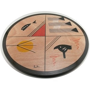Lazy Susan - Nature design by Kakadu Art