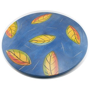 Lazy Susan - Leaves by Kakadu Art