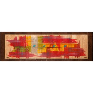 Table Runner Abstract by Kakadu Art