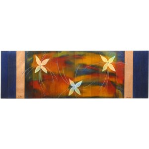 Table Runner Blue Florali by Kakadu Art
