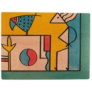 Rectangular Placemat - Composi by Kakadu Art