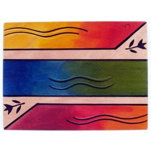 Rectangular Placemat Ikat by Kakadu Art