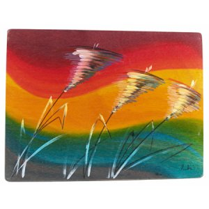 Rectangular Placemat Windy by Kakadu Art