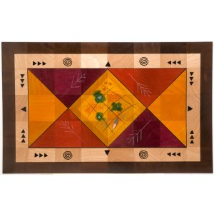 Floor Mat Dream Field by Kakadu Art